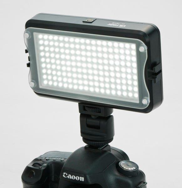 呈現攝影-Viltrox LL-162VB 照明燈 LED燈 DV補光燈 附色溫片/柔光片 可微調光