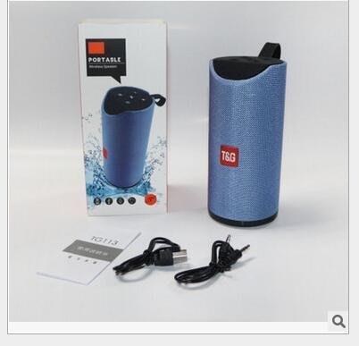 TG113無線藍牙喇叭 插卡音箱 可擕式戶外迷你小音響 低音炮 收音  藍芽喇叭1267