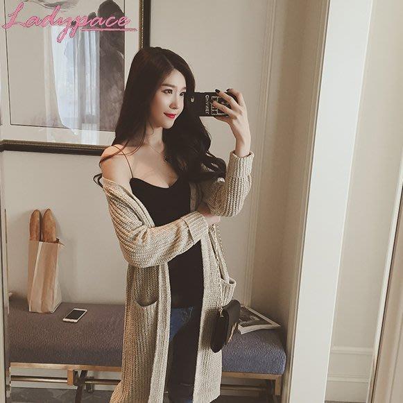 「細肩帶針織背心」韓國 春夏 時尚 氣質 韓版