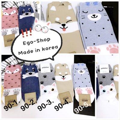 下殺驚喜價EGO-SHOP韓國空運-可愛旺旺財犬狗短襪Q-90