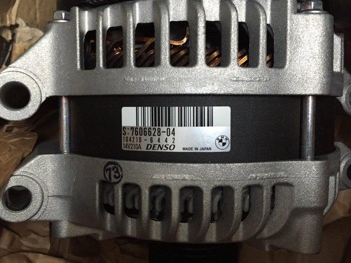 BMW M5 M6 發電機  F10 M5 F13 M6 發電機 BMW 正廠零件