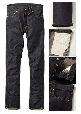全新现货 UNIQLO 合身直筒原色牛仔裤 Slim Fit 日本制造 32  32腰 日制 养裤专用 限时特价