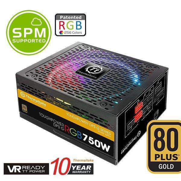 [米特3C數位 岡山實體店面]Thermaltake曜越Toughpower DPS G RGB 750W 金