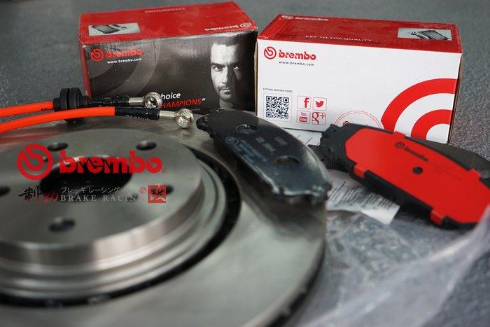 義大利 BREMBO OE原裝 LEXUS NX200/NX300 運動版來令片+原廠對換型碟盤 歡迎詢問 / 制動改