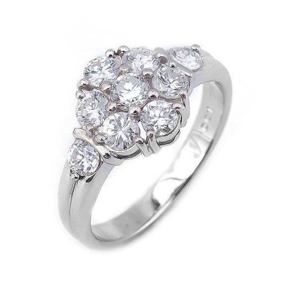 【JHT 金宏總珠寶/GIA鑽石專賣】1.00ct天然鑽石造型戒指/材質:PT900(JB39-B09)