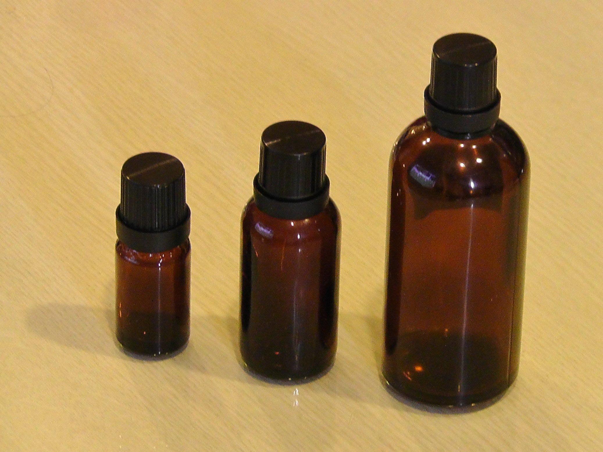 《香香草本》瓶瓶罐罐  100ml茶色玻璃精油瓶~每支$25