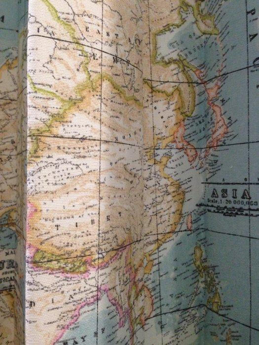 【窗的世界家飾館】20年專業製作達人,雅式多系列窗簾 世界地圖,達人專業丈量安裝