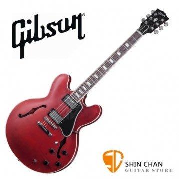 GIBSON ES-335 Satin 電吉他 Faded Cherry 紅 ES335 Satin 半空心電吉他