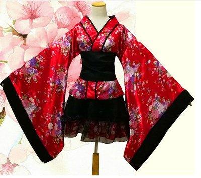 重櫻和服 女僕裝 極樂淨土宅舞衣服 洛麗塔洋裝