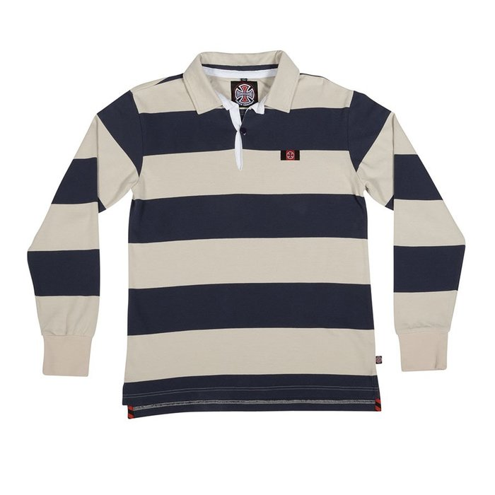 《Nightmare 》Independent Scrum L/S Rugby Polo Shirt POLO衫 長袖