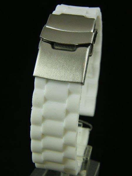 錶帶屋 ROLEX Tudor 勞力士 J12 Chanel 三珠款 帝舵 白色代用錶帶有19mm 20mm 21mm 22mm 現貨