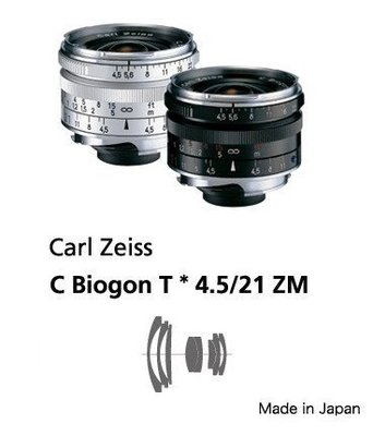@佳鑫相機@(全新品)Zeiss 蔡司 ZM C-Biogon T* 21mm F4.5(黑) Leica M用 公司貨