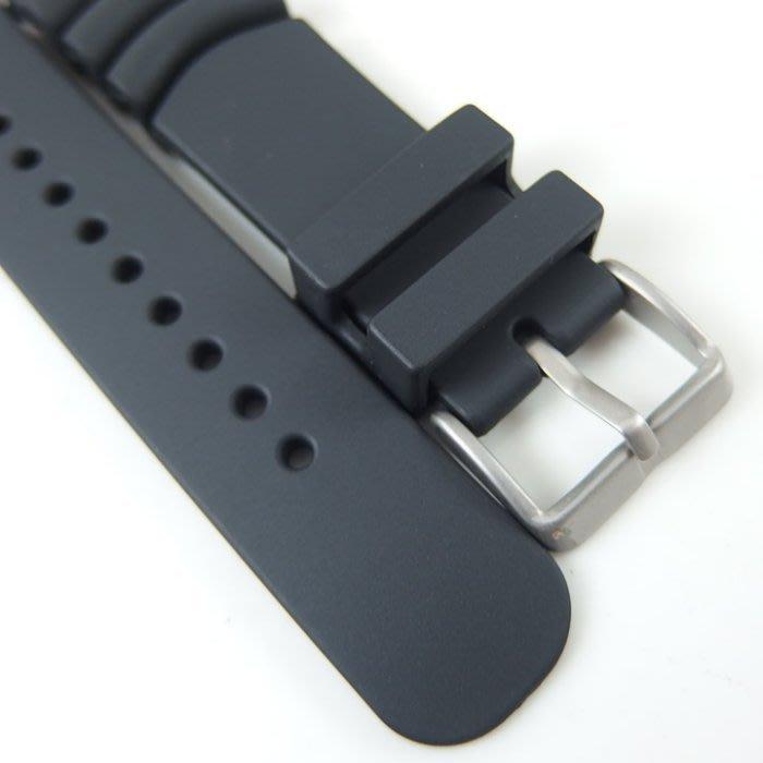 錶帶屋   20mm 22mm 24mm PU膠運動錶帶 有效替代SEIKO CITIZEN CASIO 現貨