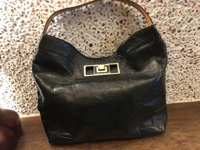Anya Hindmarch綠色漆皮手提袋