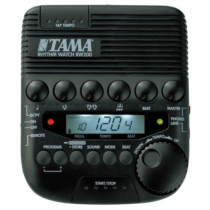 【六絃樂器】全新 Tama RW200 鼓手專用節拍器 / 貼總代理標籤 現貨特價