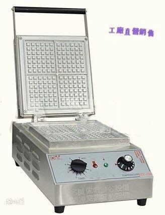 ♤名誠傢俱辦公設備冷凍空調餐飲設備♤ 方形美式鬆餅機大格正方形鬆餅機/比利時正方形鬆餅機 鬆餅機 HY-166