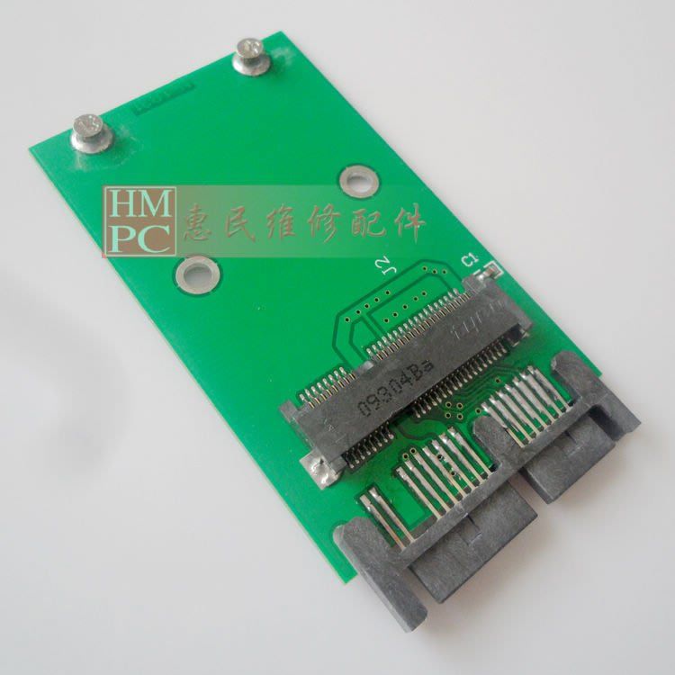 mini pci-e mSATA SSD固態硬碟轉1.8寸MICRO SATA MSATA轉1.8串口   W32[27