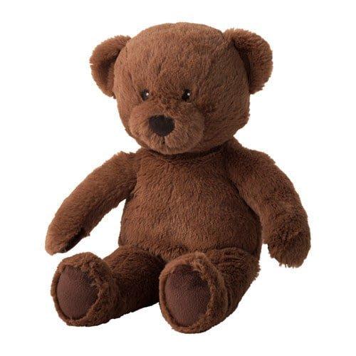 IKEA新品  BRUNBJÖRN 填充玩具, 熊 $129