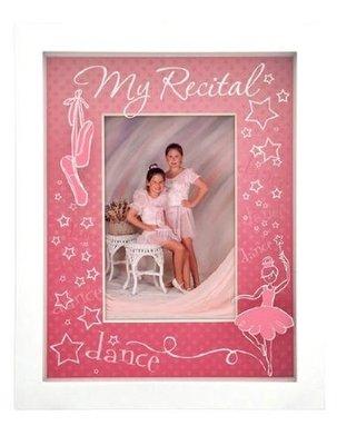 芭蕾小棧生日畢業表演出禮物美國粉紅舞者舞鞋木質相框可放4 x6 相片