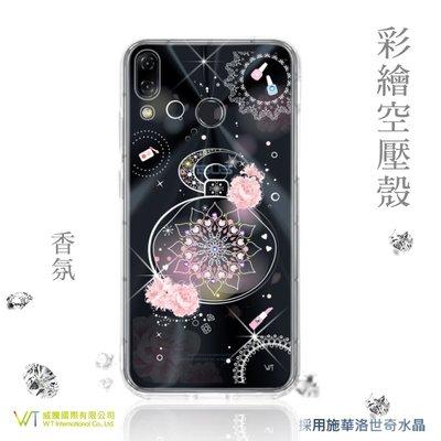 【WT 威騰國際】WT® ASUS zenfone5 (ZE620KL) 施華洛世奇水晶 彩繪空壓殼-【香氛】