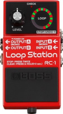 ☆ 唐尼樂器︵☆ BOSS RC-1 Loop Station 樂句循環 效果器 RC-1