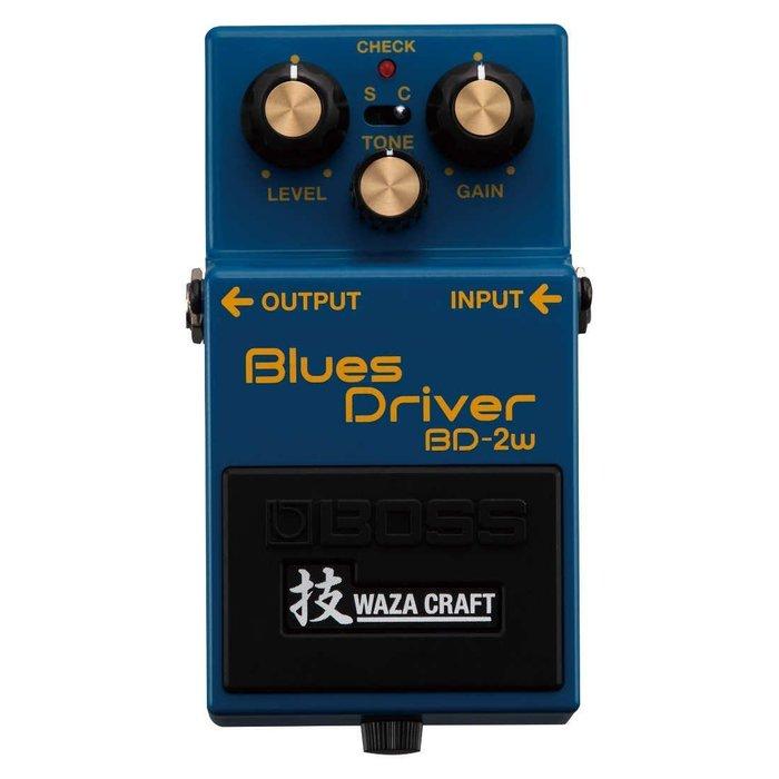 【六絃樂器】全新 Boss BD-2W Blues Drive 破音效果器 / 現貨特價