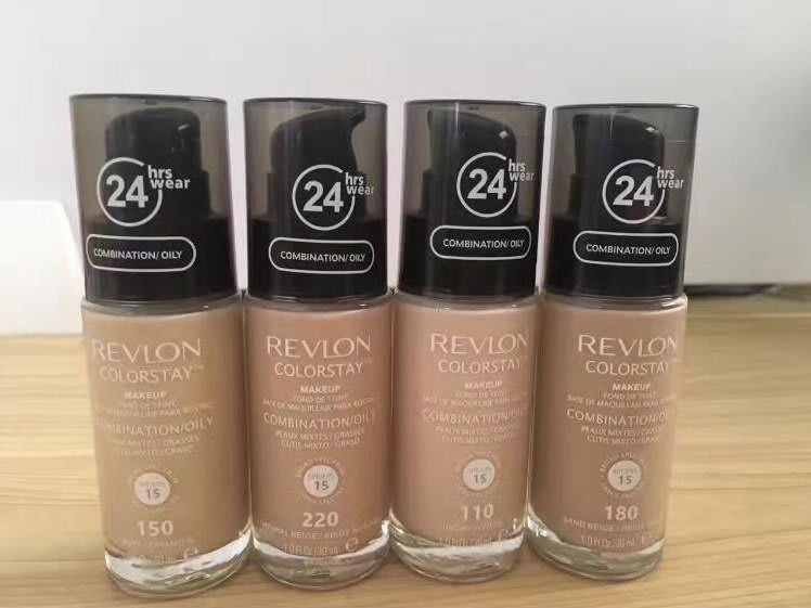 Revlon 露華濃 24HR ColorStay 粉底液 #110#150#180#220 Sand Beige
