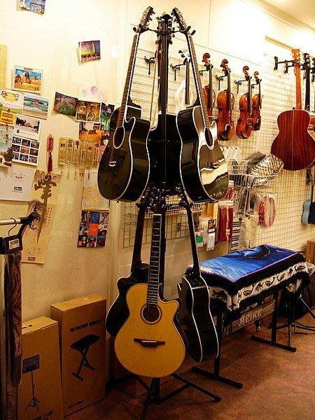 ☆ 唐尼樂器︵☆全新6支裝吉他架/吉他吊架(木吉他/民謠吉他/電吉他/電貝斯 Bass 都適用)