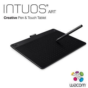 【全新含稅附發票】Wacom Intuos Art 藝術創意觸控繪圖板-經典黑(中)CTH-690/K0-CX