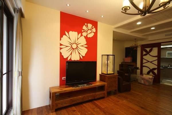 原木工坊~ 原木風室內裝潢  歐風厚實電視櫃