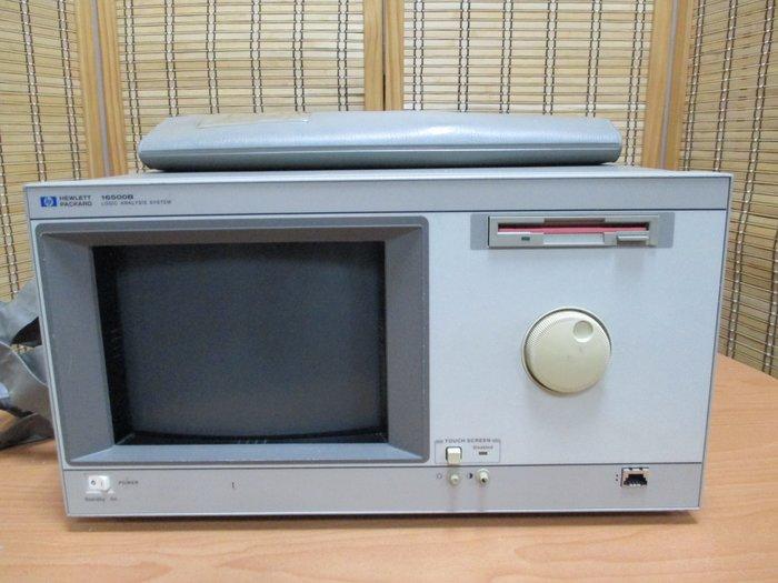 康榮二手儀器HP 16500B+16555A Logic Analysis System Mainframe+Logic
