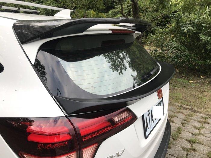 ☆光速改裝精品☆HONDA HRV HR-V 中尾翼 素材 ABS (現貨在庫)