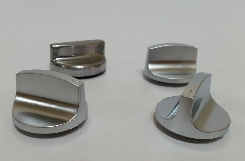 豪山牌 檯面式瓦斯爐 SB-1020/SB-2020單口/雙口拼爐 新款替代專用 銀色旋鈕 原廠公司貨 賣場商品為1個