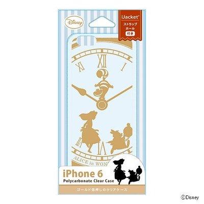 尼德斯Nydus 日本正版 迪士尼 愛麗絲夢遊仙境 Alice 透明 硬殼 手機殼 5.5吋 iPhone7+ plus