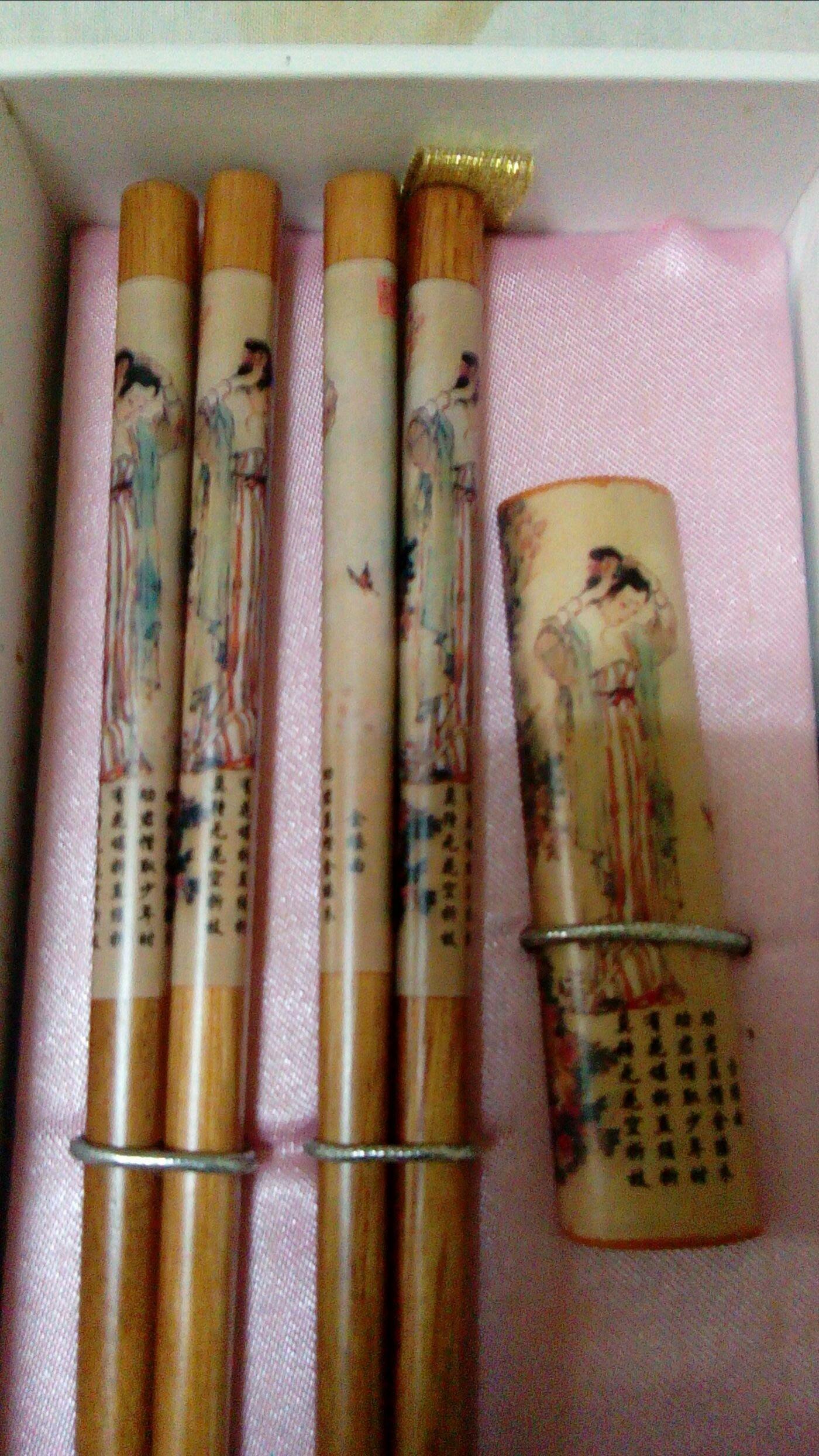 古典筷子及筷架