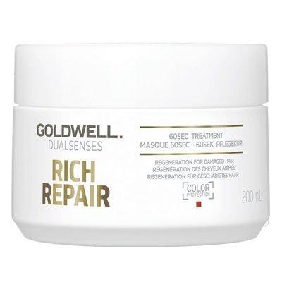 GOLDWELL 歌薇 水感60秒髮膜 200ml 【小7美妝】