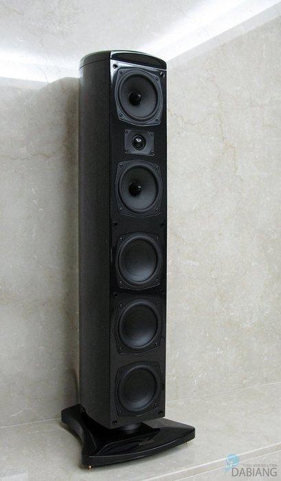 盛昱音響-英國 MISSION E54 時尚造型喇叭【全新公司貨黑色鋼琴烤漆現貨】