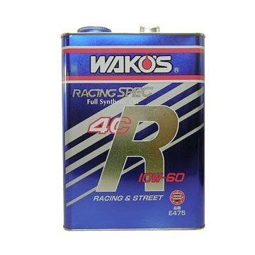 ☆光速改裝精品☆日本Wako's 4CR  全合成機油 10W60  4L  {公司貨} E475