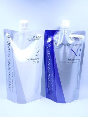 (華明)日本SHISEIDO 資生堂 水質感 N  燙髮劑(受損髮專用)隨時可面交.自取.超取新包裝(燙直)
