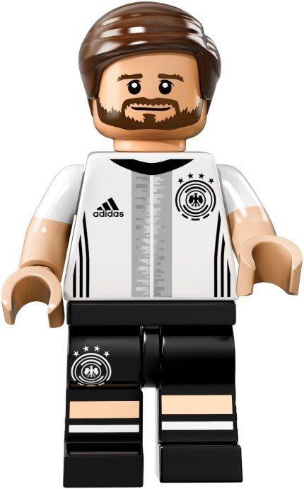 【LEGO 樂高】益智玩具 積木/ DFB 德國足球隊 人偶系列 71014 | 單一人偶: Mustafi 背號:2號