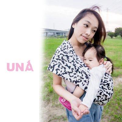 Una背巾 (哺乳揹巾) 背帶 推車 哺乳衣 巾 最佳支援~嬰兒背巾 ☆╮精選彈性系列 ~ 牛奶╭☆ 台灣製好品質