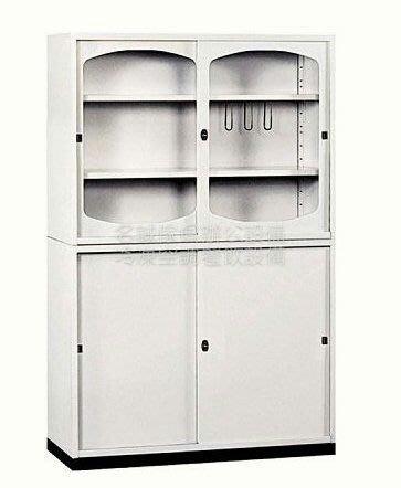 ♤名誠傢俱辦公設備冷凍空調餐飲設備♤3×6 拉門 鐵櫃 書櫃 置物櫃尺寸:88×40×17