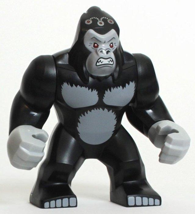 現貨【LEGO 樂高】全新正品 積木 / 超級英雄系列 76026   單一人偶: 大猩猩 古魯德 Gorilla