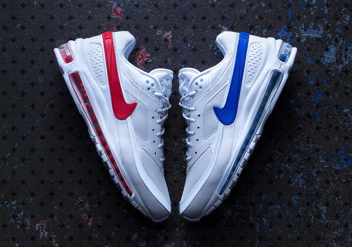 NIKE AIR MAX 97/BW SKEPTA 紅藍 陰陽 代購付驗鞋證明