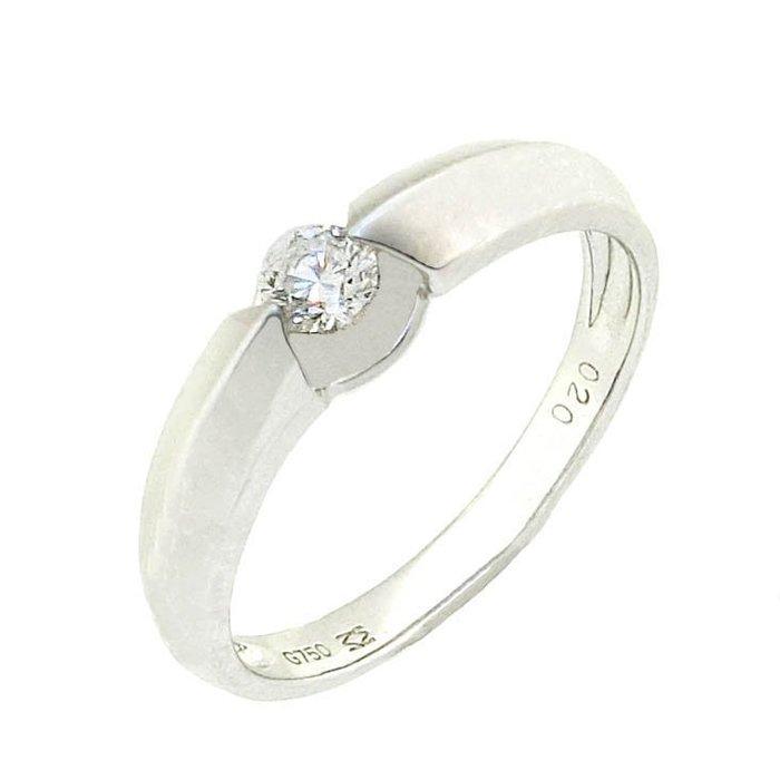 【JHT 金宏總珠寶/GIA鑽石專賣】0.35ct天然鑽石戒指/材質:18K(D000227)