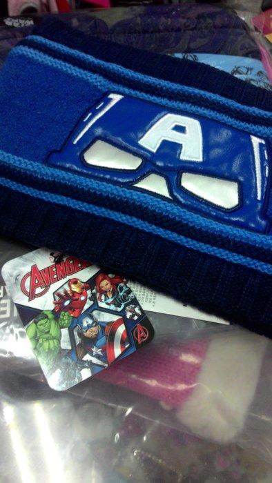 韓國原裝進口 美國隊長脖圍蜘蛛人系列脖圍頭套手部保暖皆可用 現貨 生日禮物 聖誕節禮物