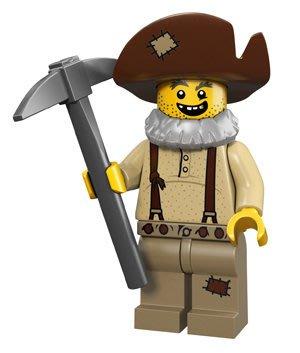 【LEGO 樂高】積木/ Minifigures人偶系列:12代人偶包抽抽樂 71007 | 礦工 Prospector