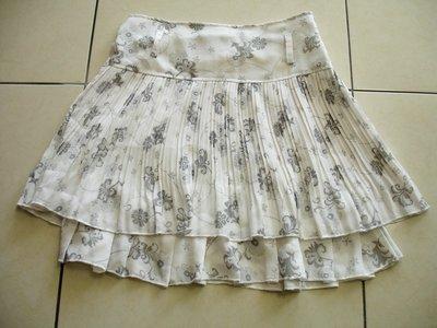 短裙雙層短裙--九成新