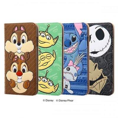 尼德斯Nydus 日本正版 迪士尼 立體 翻頁皮套 可放卡片 手機殼 奇奇蒂蒂 三眼怪 史迪奇 4.7吋 iPhone7