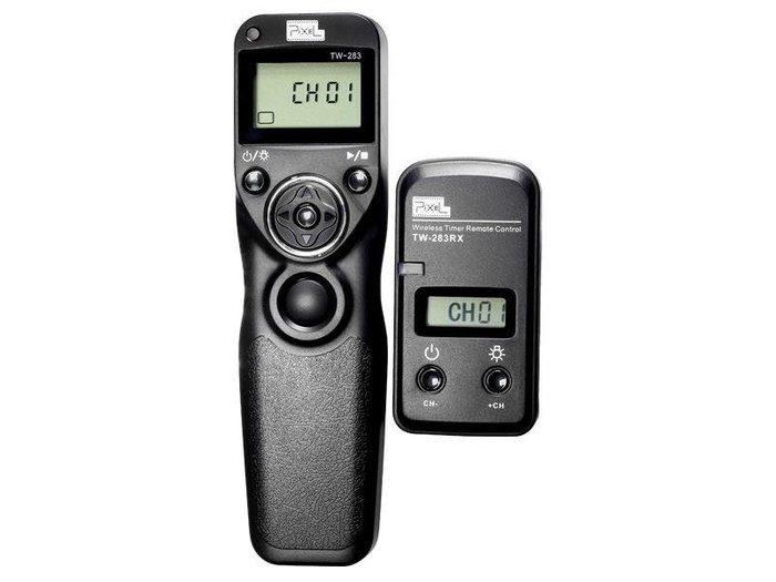 呈現攝影-品色(Pixel) TW-283 DC2 無線定時快門線 可換線 縮時攝影Nikon D750/D7000